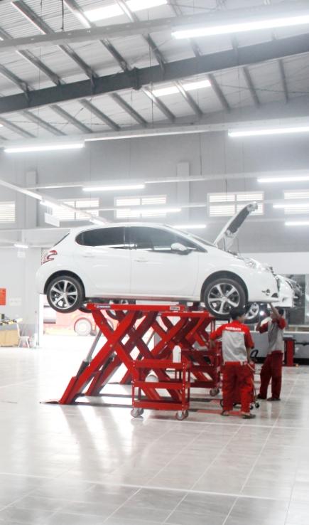 Showroom Nissan Đông Hà